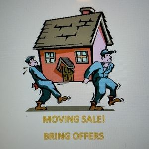 MOVING SALE! BRING OFFERS!